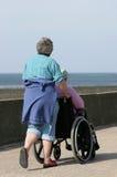 Soins de l'handicapé Images stock