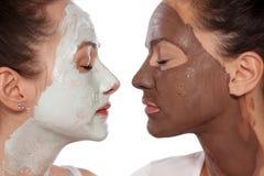 Soins de la peau faciaux Photo stock