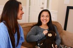Soins de santé à domicile Photo libre de droits