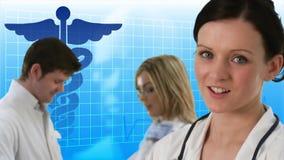 Soins de santé banque de vidéos