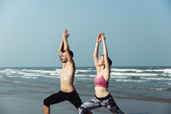 Soins de santé Concep de méditation d'exercice de spiritualité de bien-être de yoga Images libres de droits
