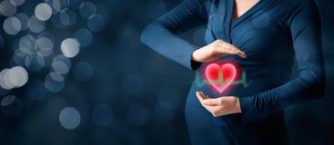 Soins de santé de maternité Image stock