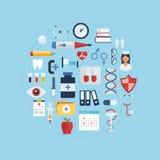 Soins de santé et recherche médicale Photo stock