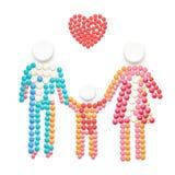Soins de santé de famille Image libre de droits