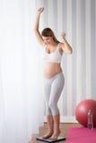 Soins de santé pendant la grossesse Images libres de droits