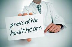 Soins de santé préventifs Photo libre de droits