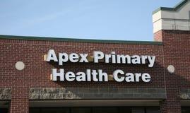 Soins de santé primaires d'apex Photo libre de droits