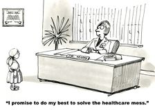 Soins de santé publics illustration stock