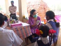 Soins de santé tribals Image libre de droits
