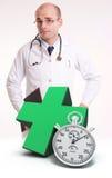 Soins de santé vingt-quatre heures sur vingt-quatre Photographie stock libre de droits