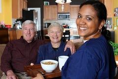 Soins de santé à la maison Photo stock