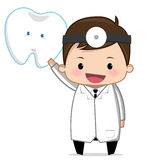 Soins dentaires de dentiste Images stock