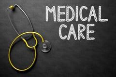 Soins médicaux sur le tableau illustration 3D Image libre de droits