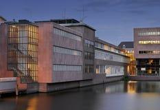 Soirée à Amsterdam Photo libre de droits