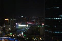 Soirée à Changhaï photos stock