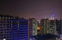 Soirée à Changhaï image stock