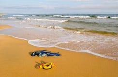 Soirée à la mer Images libres de droits