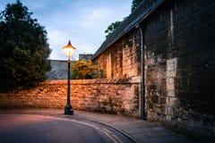 Soirée à Oxford Photo stock
