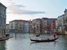 Soirée à Venise. Photo stock