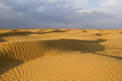 Soirée aux déserts photo libre de droits