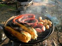 Soirée délicieuse de BBQ   Photos stock