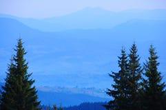 Soirée dans les montagnes Photographie stock libre de droits