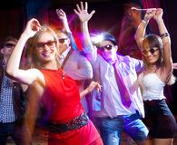 Soirée dansante image libre de droits