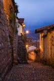 soirée de cusco Image stock