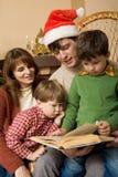 Soirée de Noël Image libre de droits