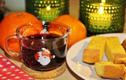 Soirée de vin chaud Photo stock
