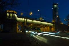 Soirée Moscou Image libre de droits