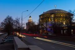 Soirée Moscou images stock
