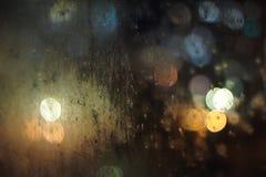 Soirée pluvieuse Images libres de droits