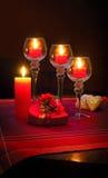Soirée romantique Photos libres de droits