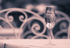 Soirée romantique photographie stock libre de droits