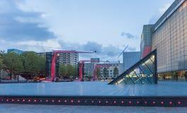 Soirée Rotterdam, Pays-Bas Photos libres de droits