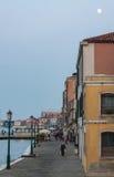 Soirée sur l'île de Giudecca Photos libres de droits