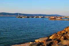 Soirée sur la côte Photos libres de droits