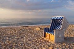 Soirée sur une plage Image libre de droits