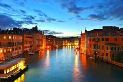 Soirée Venise Photo stock