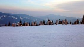 Soirées d'hiver Photographie stock libre de droits
