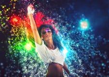 Soirée dansante d'imagination Images stock