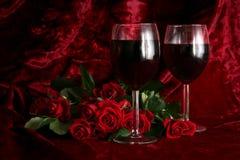 Soirée romantique Photo libre de droits