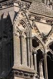 Soissons Cathedral. Architectural details of Soissons Cathedral, Picardy, France Royalty Free Stock Photos