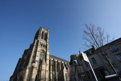 Soissons Cathedral Royalty Free Stock Photos