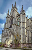 Soissons Cathedral, France Royalty Free Stock Photography