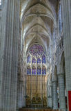 Soissons Cathedral, France Royalty Free Stock Photo