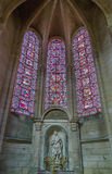 Soissons Cathedral, France Stock Images