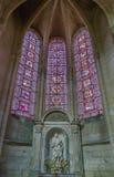 Soissons domkyrka, Frankrike Arkivbilder