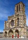 Soissons-Kathedrale, Frankreich lizenzfreies stockfoto